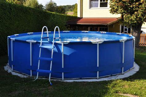 intex pool mit sandfilteranlage