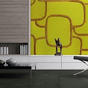 Papier Peint Art Deco : papier peint art d co couleurs et g om trie ~ Dailycaller-alerts.com Idées de Décoration