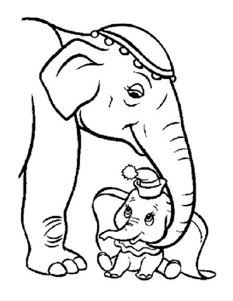 pics  mommy  baby animal coloring pages  print