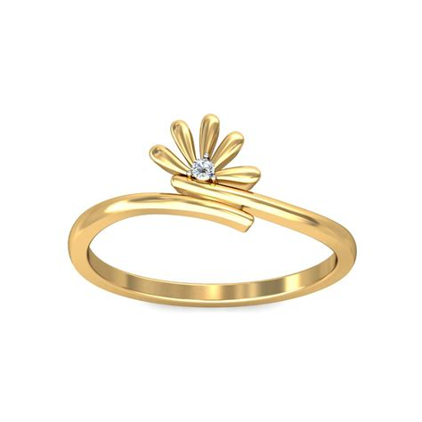 ring price 0 01ct certified yellow white