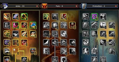guide pvp arms warrior talent build wow cataclysm