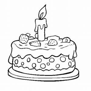 Dessin Gateau Anniversaire : anniversaire coloriage anniversaire en ligne gratuit a ~ Melissatoandfro.com Idées de Décoration