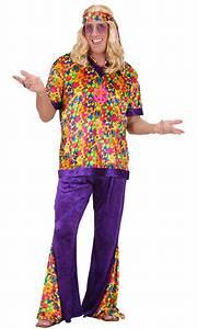 Kleidung 60 Jahre : hippie kost m herren flower power peace kost m 60er 70er jahre bunt kost me ~ Frokenaadalensverden.com Haus und Dekorationen