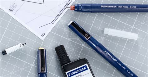 technical pens drawing ink staedtler