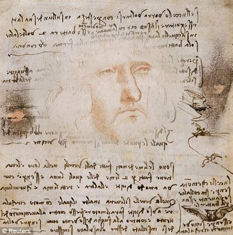 hidden  portrait  da vinci  discovered