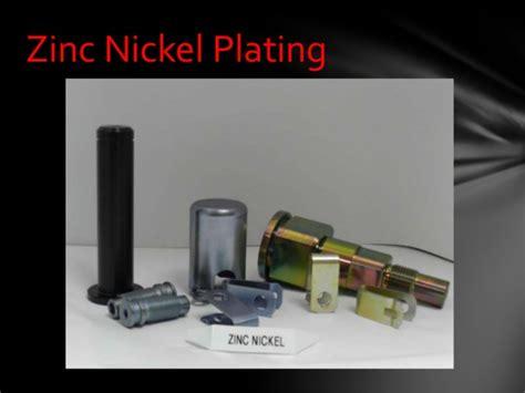 Zinc And Zinc Nickel Plating