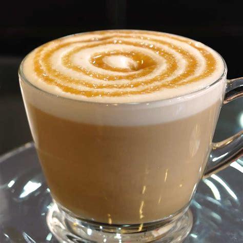 caramel latte espresso coffee tea menu dilettante