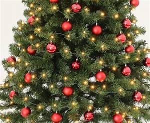 Weihnachtsbaum Kaufen Künstlich : geschm ckte weihnachtsb ume 210cm mit rot farbigen kugeln online kaufen ~ Markanthonyermac.com Haus und Dekorationen