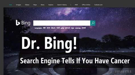 microsofts bing search engine detects pancreatic cancer
