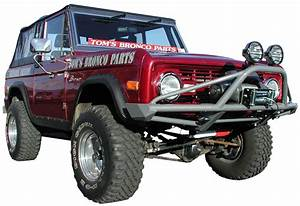 66-77 Ford Bronco Bumpers - Custom Or Stock