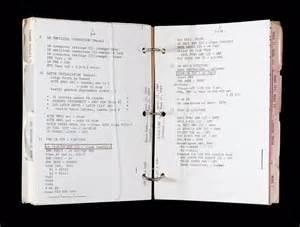 Apollo Lunar Module System Activation Checklist | National ...