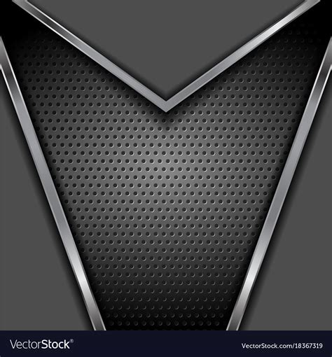 Abstract Black Metal Background by Abstract Tech Metallic Background Royalty Free Vector