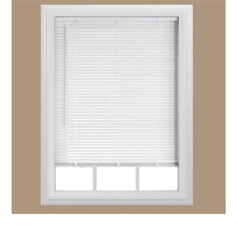 cordless mini blinds cut to size bali cordless 1 quot room darkening vinyl mini blind white