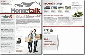 hometalk newsletter template issue 0 With realtor newsletter templates