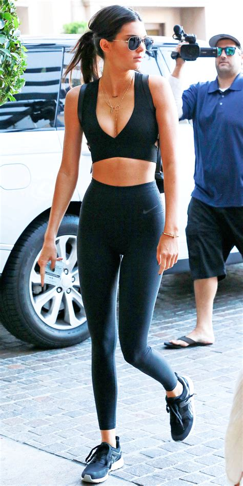 Kendall Jenneru0026#39;s Sexy Workout Outfit | InStyle.com