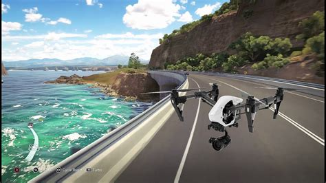 Forza Horizon 3 Drone Vs Dji Phantom 3 Sea Cliff Bridge