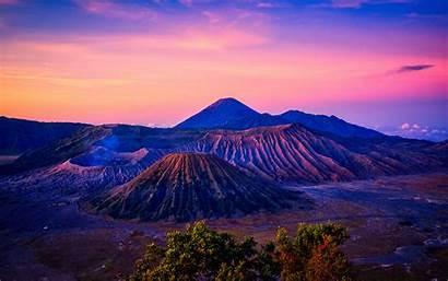 4k Volcano Bromo Mount Sunrise Indonesia Wallpapers