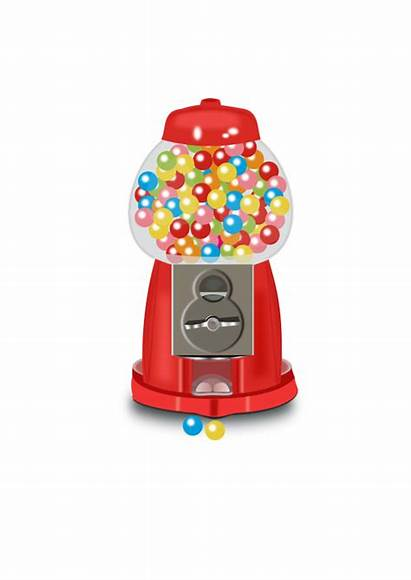 Machine Clipart Gumball Gum Transparent Webstockreview Openclipart