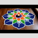 Rangoli Designs With Flowers And Colours | 480 x 360 jpeg 33kB