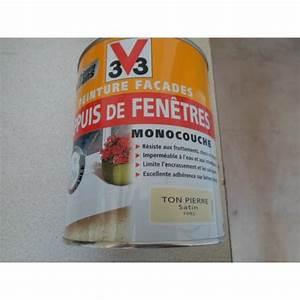 peinture facades appuis de fenetres ton pierre 1l mondecor With peinture appui de fenetre
