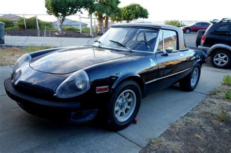 1976 Alfa Romeo Spider 2000 Inezione, With Hardtop, No