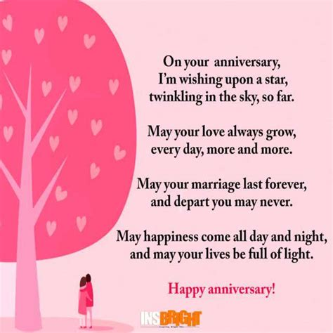 Free Anniversary Poem Picture by Happy Anniversary Poems For Him Or With Images