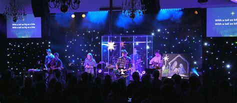 sky full  stars church stage design ideas
