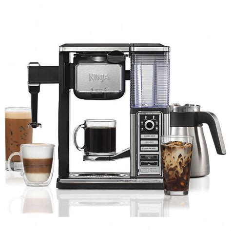 The ninja coffee bar thermal carafe system cf097 is a complete coffee system that allows anyone to brew up a perfect cup of coffee in their own home or office. Ninja Coffee Bar Thermal Carafe System (CF097), Multicolor | Ninja coffee bar, Ninja coffee ...