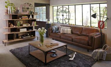 changer couleur canapé cuir canape cuir 3places deco salon couleur naturelle alinéa