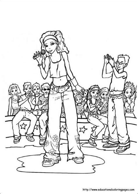 high school musical educational fun kids coloring pages  preschool skills worksheets