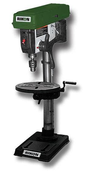 rikon  benchtop drill press wood magazine