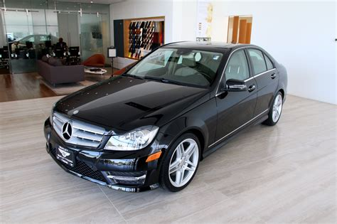 It was first introduced to the public back in 2007, during the geneva motor show. 2013 Mercedes-Benz C-Class C 300 Sport 4MATIC Stock ...