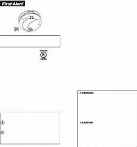 First Alert Smoke Alarm Sa710 User Guide