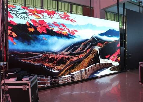 Great savings & free delivery / collection on many items. RGB SMD Advertising LED Wall Panels , LED Digital Display Light Slim Design