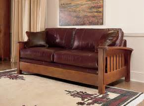 stickley orchard street sofa living in leather
