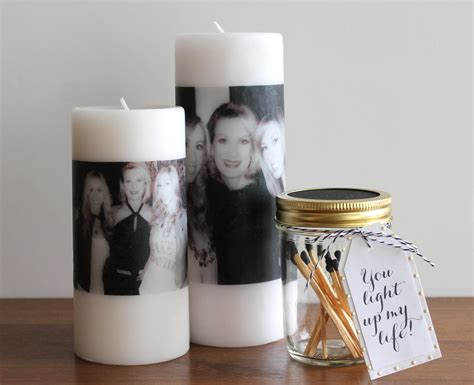 mothers day diy photo candle evite
