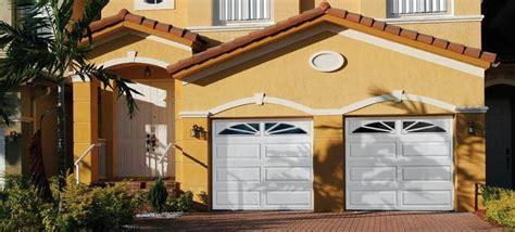 thick raised ranch panel garage doors open  garage door
