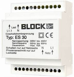 Es 30  Inrush Current Limiter For Din Rail At Reichelt Elektronik
