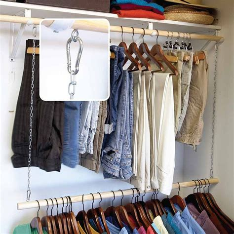 Wardrobe Racks Awesome Clothes Rods For Hanging Clothes