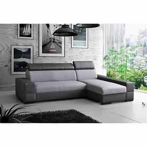 Canapé D Angle Convertible Confortable : canap d 39 angle convertible capri 4 places ~ Melissatoandfro.com Idées de Décoration
