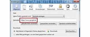 Firefox Startseite Sm De : google als startseite festlegen und mit suchen ~ A.2002-acura-tl-radio.info Haus und Dekorationen