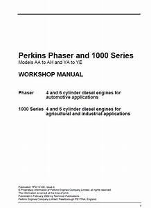 Download Jcb Perkins Phaser 1000 Series Engine Workshop Manual