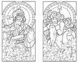 Coloring Pages Deco Nouveau Printable Adults Adult York Twins Minnesota Colouring Patterns Skyline Steampunk 1920s Lucca Ayla Butterfly Books Deviantart sketch template