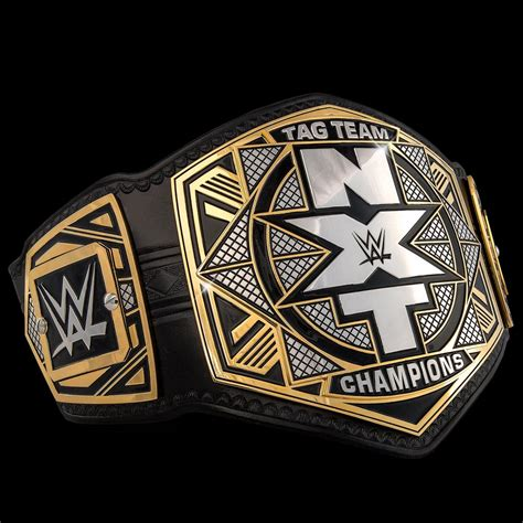 WWE NXT Tag Team Championship Belt