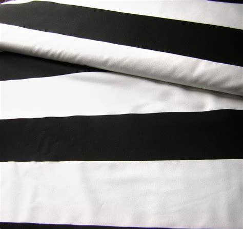 black white cotton fabric wide striped fabric curtain