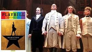 Hamilton Original Cast Curtain Call 6  15  16 And 9  23  15