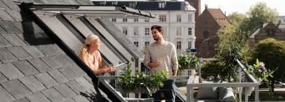dachfenster balkon velux dachbalkon dachloggia raum für wohnideen