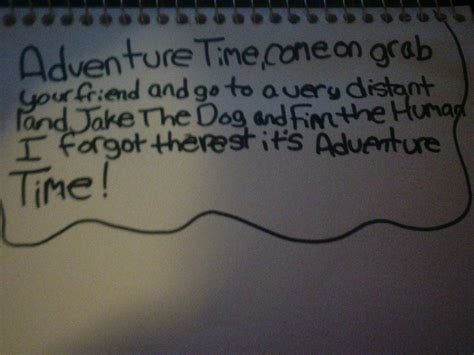 Adventure Time Theme Song By Cupcakemunchkin On Deviantart