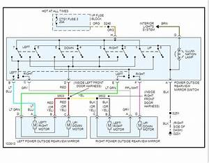 Power Window Switch Wiring Diagram  Swapped Out Doors On My