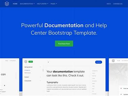 Template Documentation Guidebook Bootstrap Themes Launch